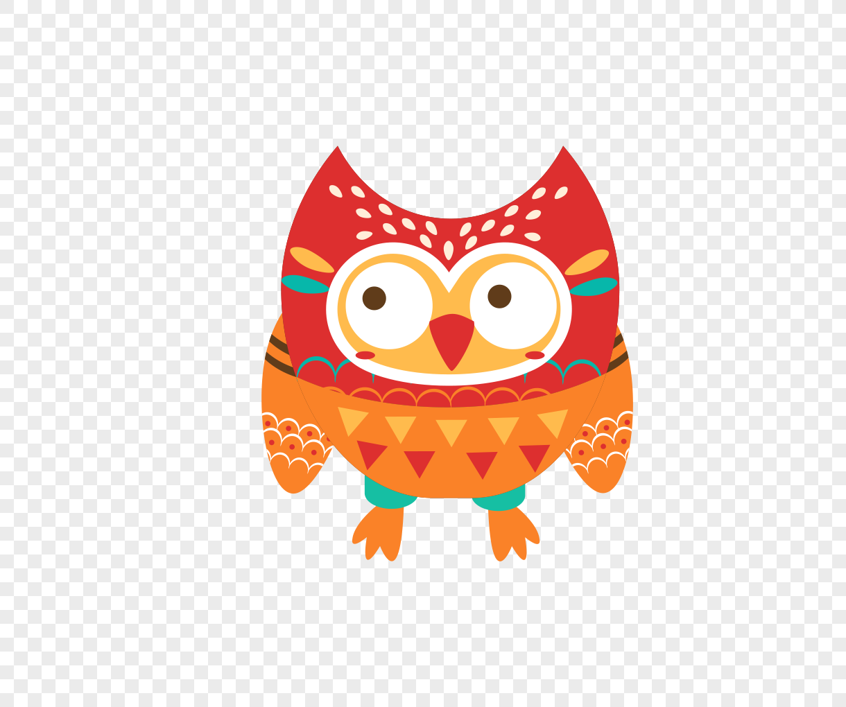 1220x1020 Cartoon Owl Vector Material Png Image Picture Free Download