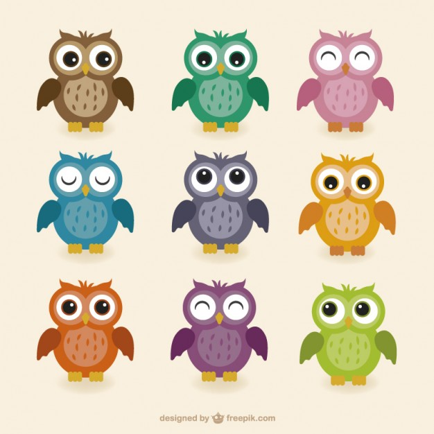 Owl Vector Free Download