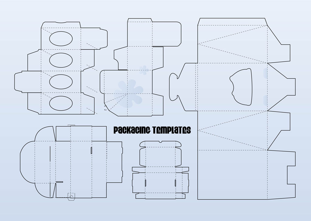 1024x730 Packaging Templates Vector Art Amp Graphics