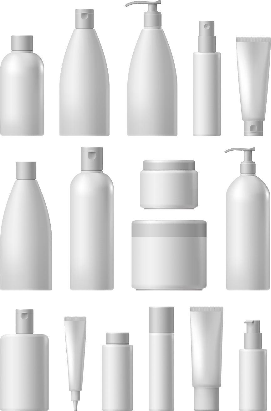 866x1310 Cosmetic Packaging Vector Material 01 Mockups Packaging