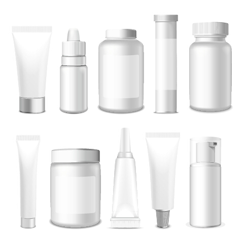 477x476 Cosmetic Packaging Vector Material 02 Free Download