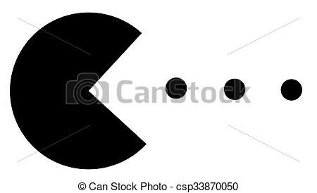450x274 Orange Pacman Ghost Clip Art