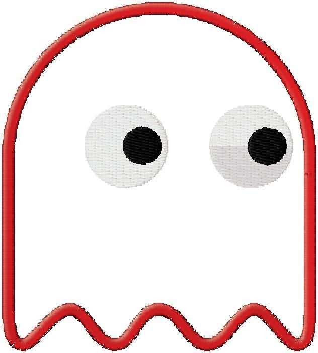 632x700 Pacman Ghost Clipart