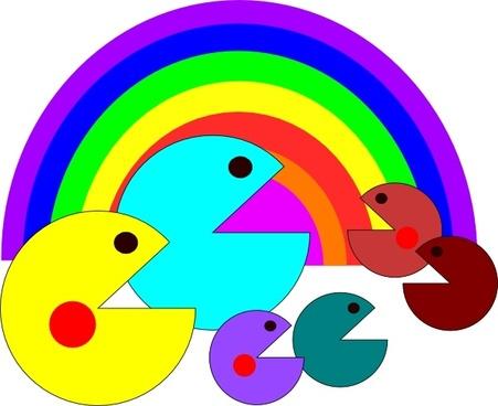 451x368 Vector Arcade Pacman Free Vector Download (67 Free Vector) For