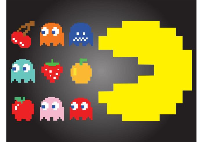 700x490 Pac Man Characters