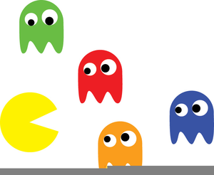 300x246 Pacman Game Clipart Free Images