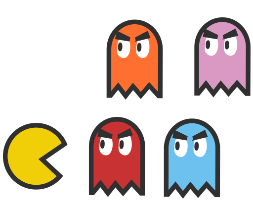 512x426 Pacman Vector By Pikmin789