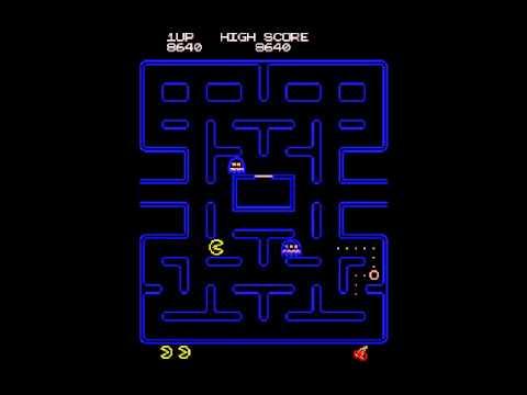 480x360 Vector Pac Man Arcade Graphics Hack Midway Namco 2000 Pac Man