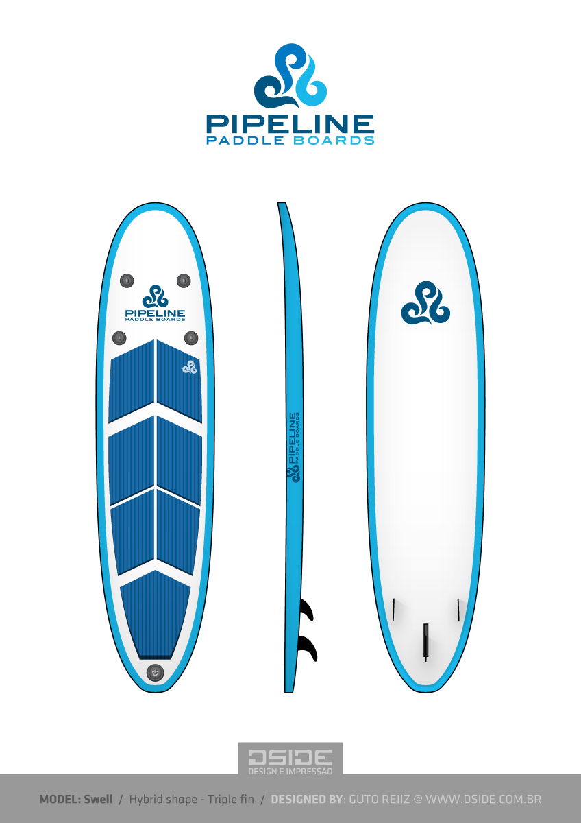 848x1200 It Company Vector Design For Pipeline Paddle Boards By Reiiz
