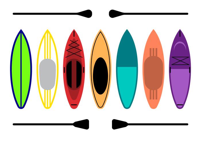 700x490 Paddleboard Free Vector Art
