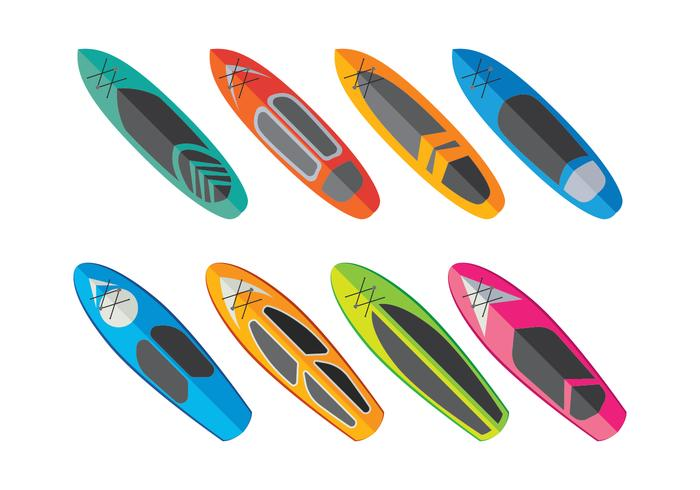 700x490 Paddleboard Vector Collection