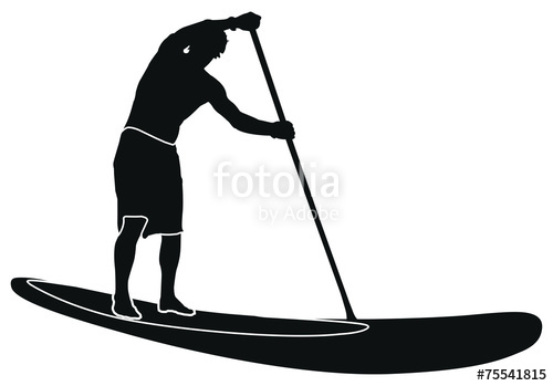 500x349 Sup Stand Up Paddling Stock Image And Royalty Free Vector Files