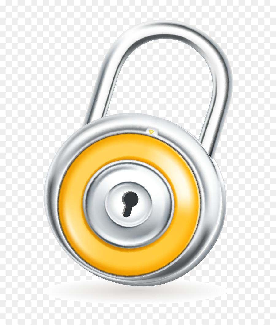 900x1060 Chroma Key Padlock