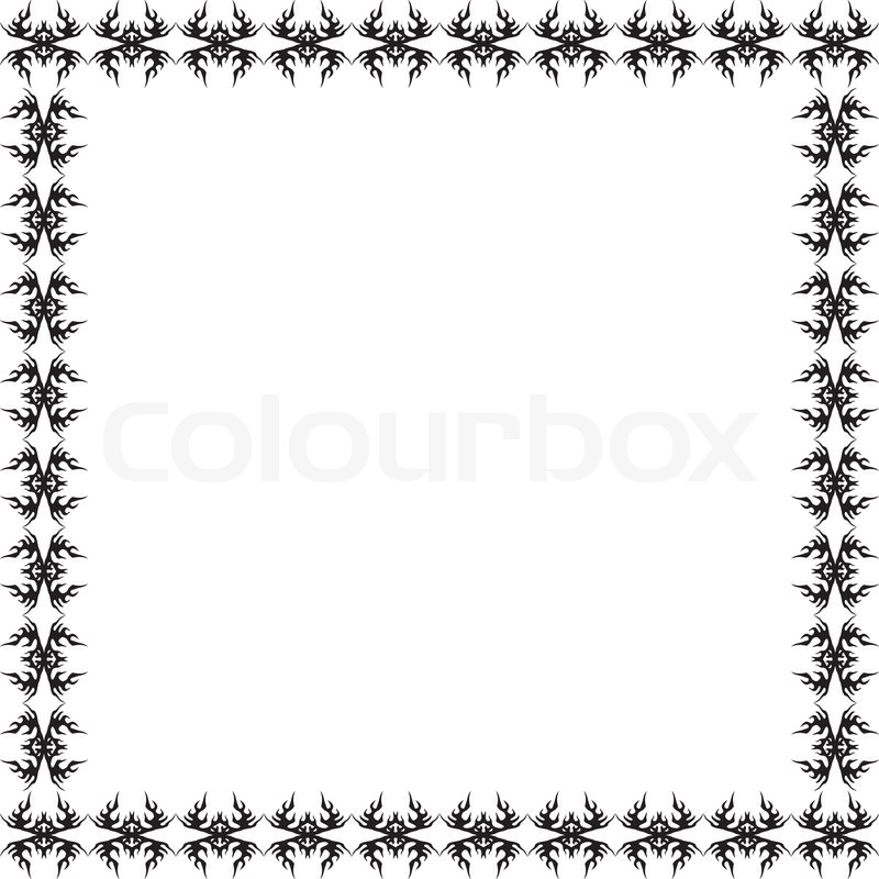 800x800 Page Border. Vector Design Element. Stock Vector Colourbox