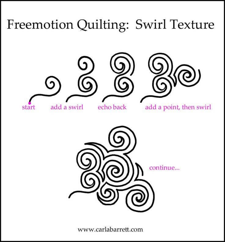 736x791 Drawn Swirl
