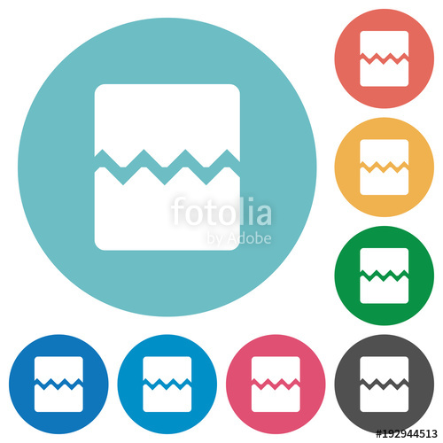 500x500 Page Break Flat Round Icons Stock Image And Royalty Free Vector