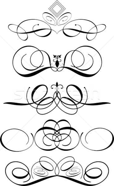 369x600 Decorative Ornaments Vector Illustration Kirsty Pargeter