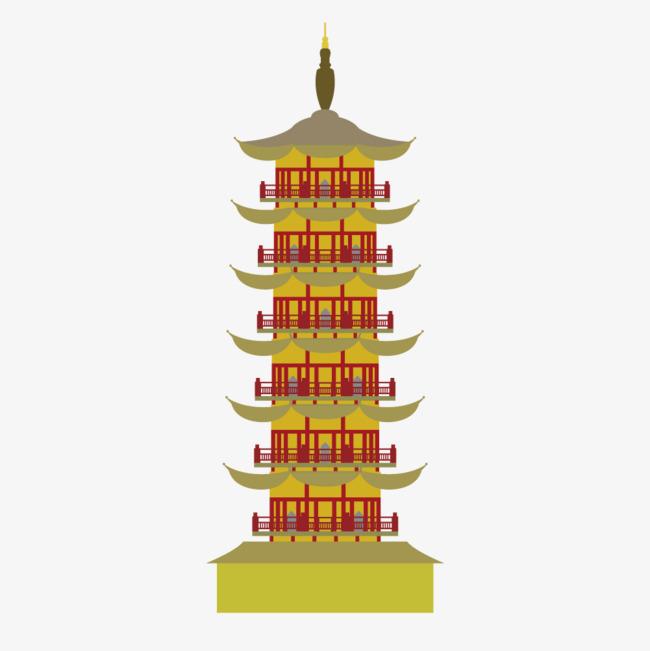 650x651 Vector Pagoda Stupa, Vector, Tower, Pagoda Png And Vector For Free