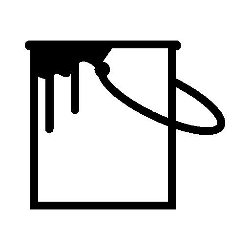 512x512 Paint Bucket Vector Clipart Panda