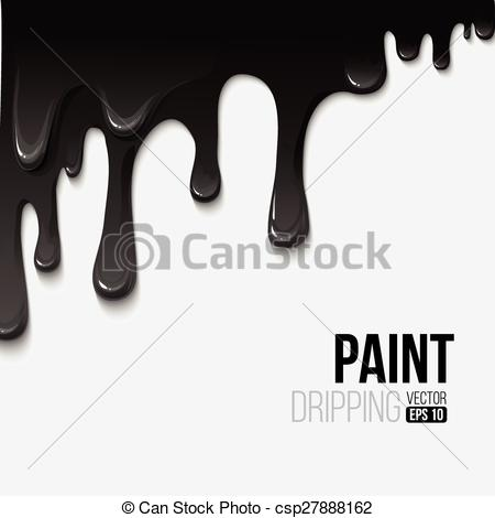 450x470 Paint Colorful Dripping Background, Vector Illustration Eps 10.