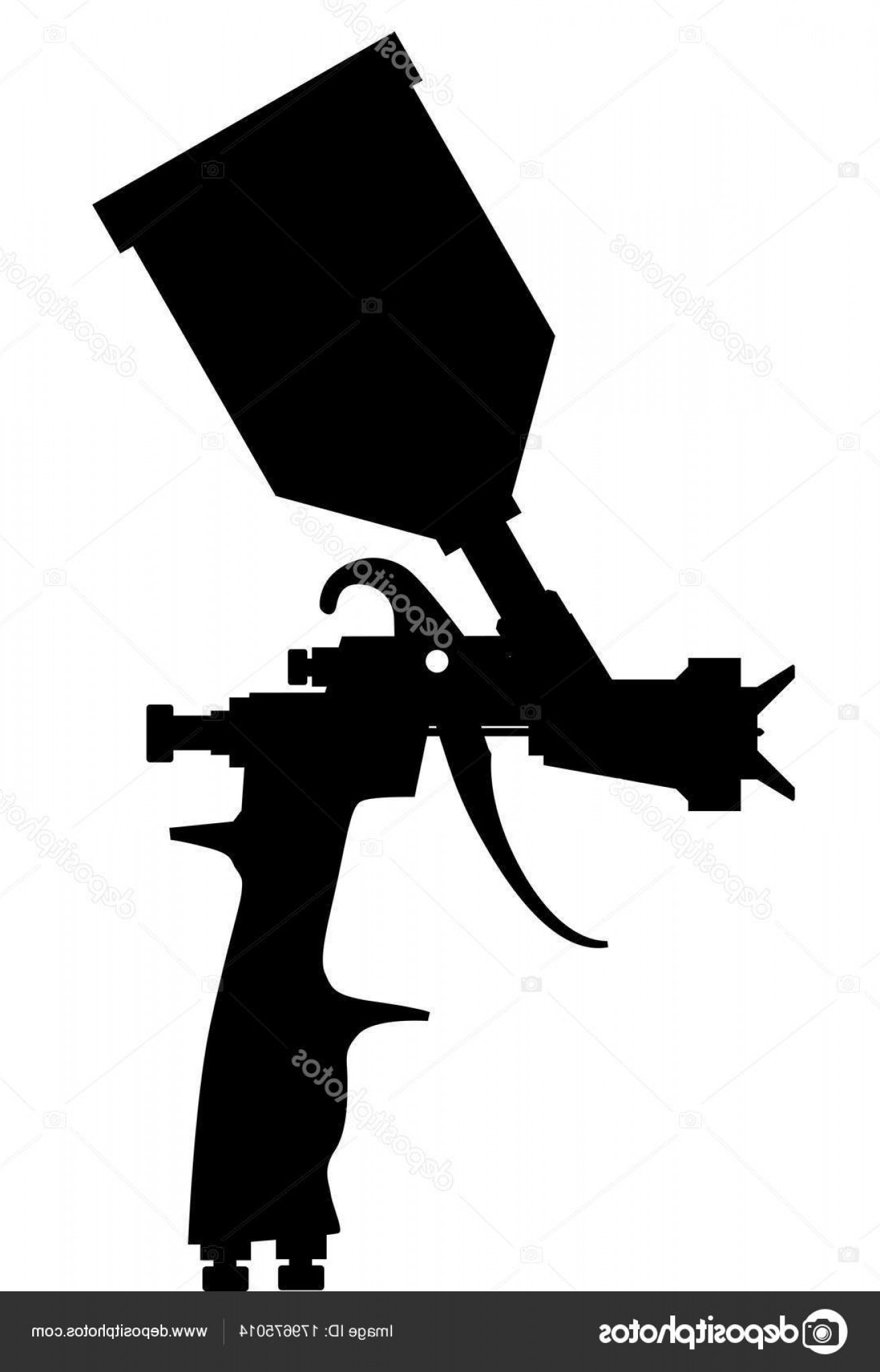 Paint Gun Vector at GetDrawings com | Free for personal use