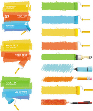 310x368 Paint Roller Brush Vector Free Vector Download (6,060 Free Vector