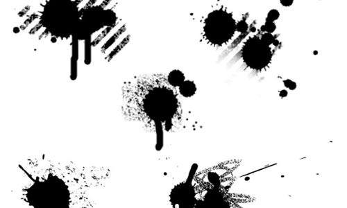 Paint Splatter Vector Illustrator