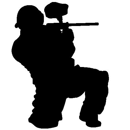 Paintball Vector