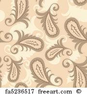 180x195 Free Art Print Of Vector Seamless Paisley Pattern. Vector Seamless