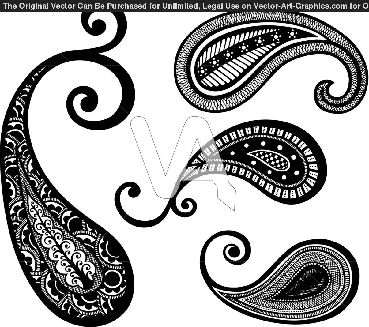 1205x1068 Paisley Lace Tattoo Vector Graphics Of Paisley Hand Drawn Design