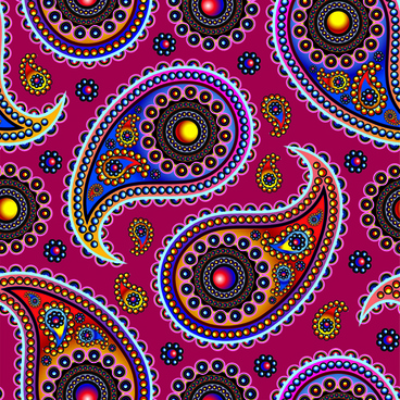 368x368 Ornate Paisley Pattern Seamless Vector Png Images, Backgrounds And