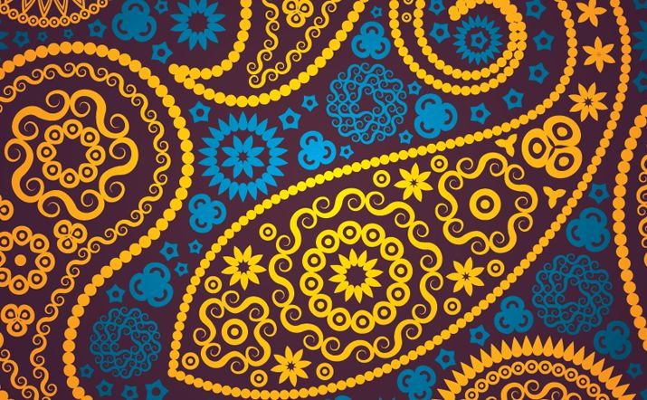 715x442 Seamless Paisley Pattern