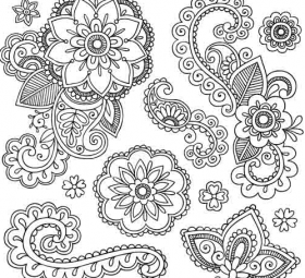 280x255 Tag Paisley Vector Free Downloads