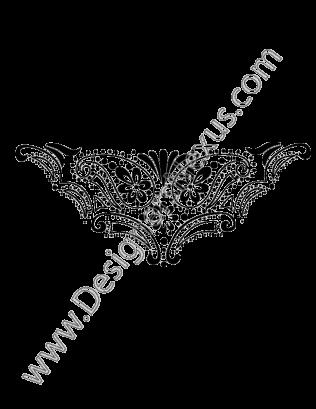 316x409 Vector Ornament Graphic Free Download V5 Symmetrical Ornament