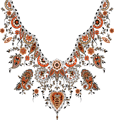380x400 18 Paisley Designs Free Download Images