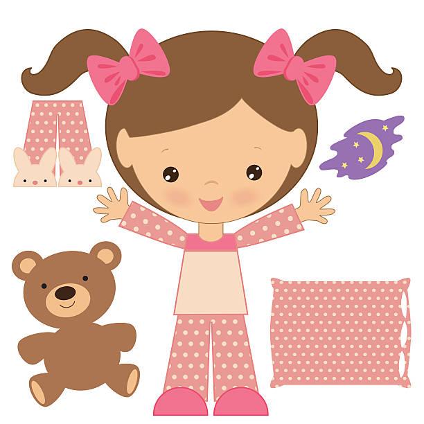 612x612 Girl In Pajamas Clipart Amp Girl In Pajamas Clip Art Images