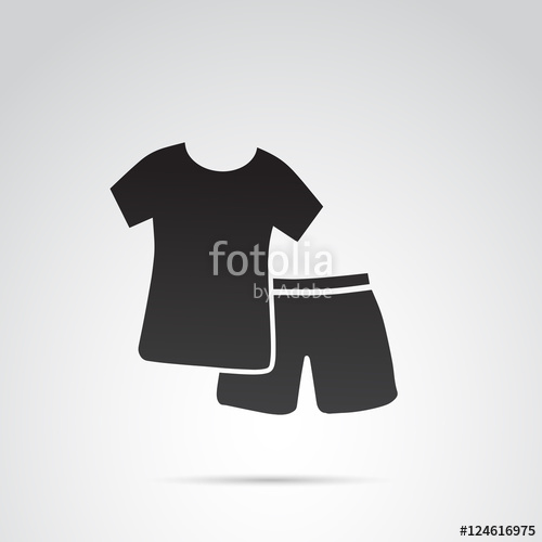 500x500 Pajama Vector Icon. Stock Image And Royalty Free Vector Files On