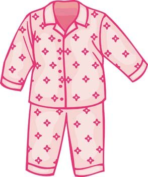 294x350 Free Pajamas Clipart And Vector Graphics