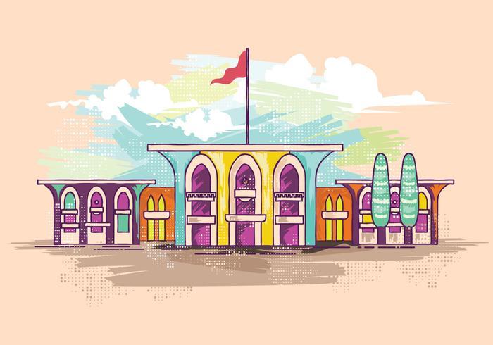 Palace Vector