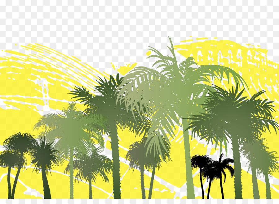 900x660 Arecaceae Tree Palm Branch Clip Art