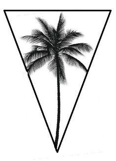 236x327 Palm Tree Print, Palm Leaves Print, Palm Tree Art, Palm Tree Wall