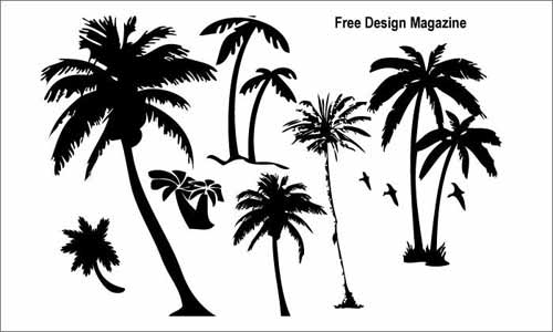 500x300 Tree Vector Free Editable Illustrations To Download