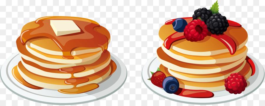900x360 Pancake Breakfast Bacon Cream Clip Art