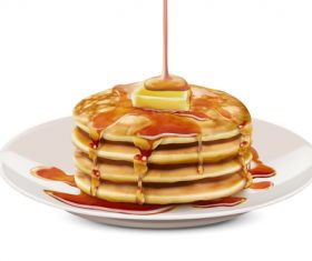 280x235 Pancake Vector