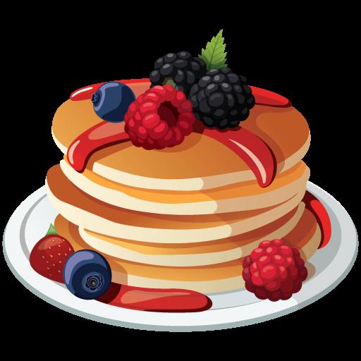 512x512 19 Pancake Vector Dessert Huge Freebie! Download For Powerpoint
