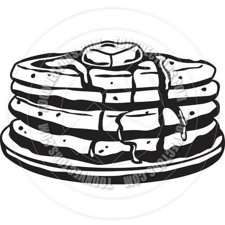 460x460 Cartoon Pancakes Vector Clipart Panda