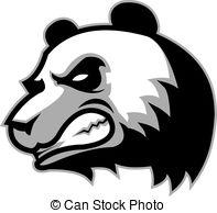 197x194 Angry Panda Bear Vector Clipart Eps Images. 171 Angry Panda Bear