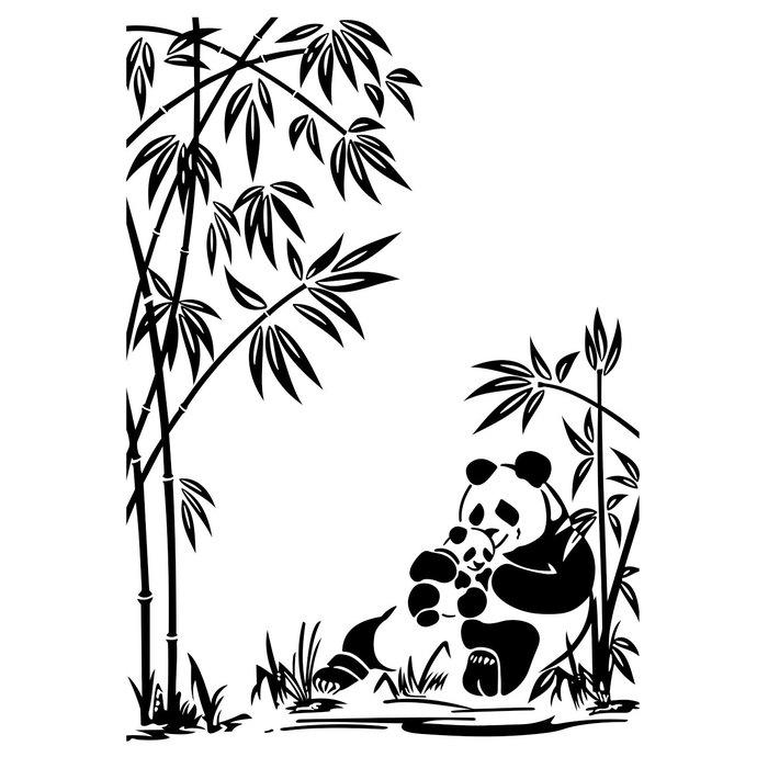 690x690 Panda Bear, Baby Panda Graphics Design Svg By Vectordesign On Zibbet