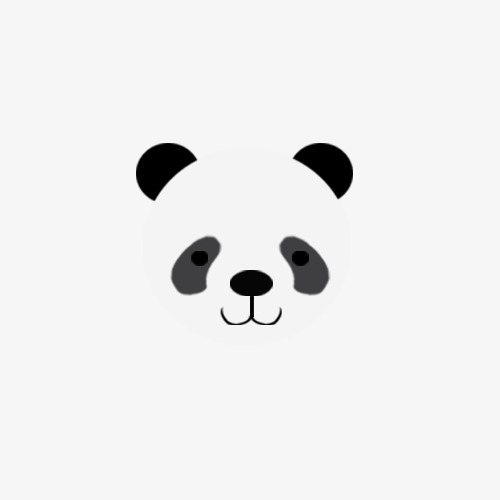 500x500 Panda Vector Diagram, Vector, Cartoon, Panda Png And Psd File For