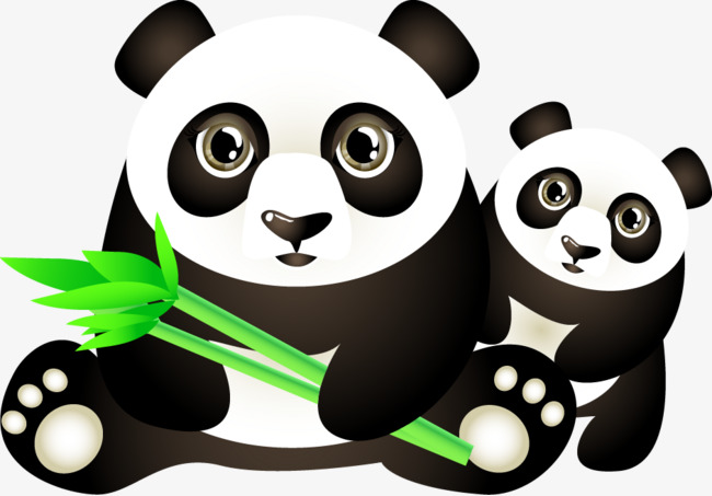 650x453 Vector Panda, Panda Vector, Panda, Vector Png And Vector For Free
